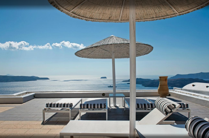 Lilium Santorini Villa